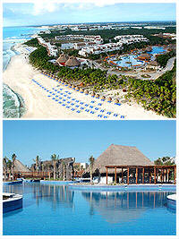valentin imperial maya just 20 minutes from cancuns international airport valentin imperial maya sits on a half mile long stretch of white sand beach of